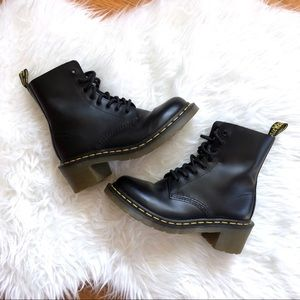 Dr. Martens | 8-Eye Clemency Smooth Boots US7